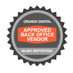 Approved Back Office Vendor - Music Reporting